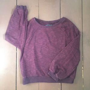 A&F Textured Crewneck Sweatshirt